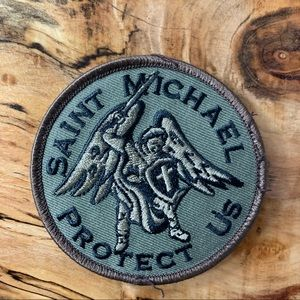 NEW St. Michael Protect Us Sew On Patch